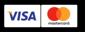 Visakort og MasterCard