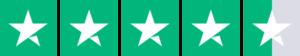 Trustpilot score på 4,5 stjerner
